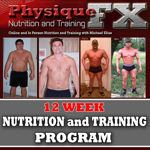 12 Week In Person Nutrition and Training Program