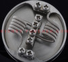 KP Premade N80 Fused Clapton Coils - Pair