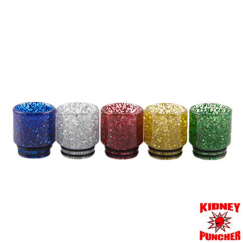 TFV8/BigBaby/TFV12/810 Epoxy Resin Glitter Drip Tip
