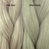 Color comparison from left to right: Pale Puce, Silver Blond