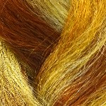 Color Swatch: GSF11 Golden Auburn Mix
