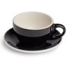 Renaissance Cup & Saucer, 4 oz, Black