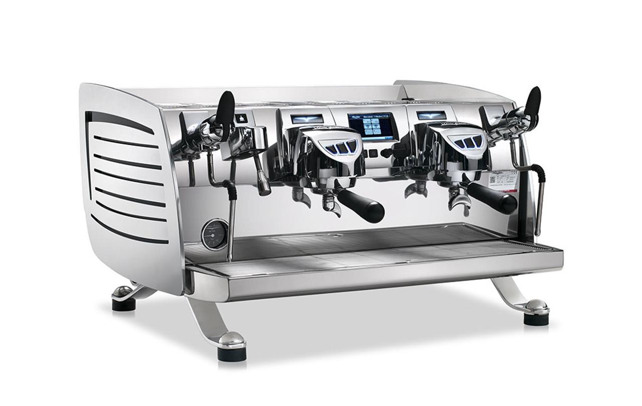 Victoria Arduino Black Eagle T Group Steelux Espresso Machine - Eagle group steam table