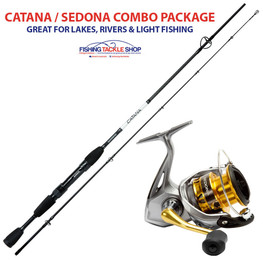 Shimano Catana - Sedona River Fishing Combo