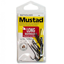 Mustad Long Bait Holder Fishing Hooks.