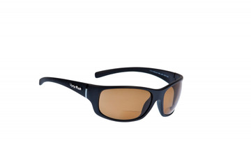 Ugly Fish Polarised Bifocal Sunglasses Eclipse PN3441 MBL.BR+AR+1.50