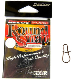 Decoy Round Lure Snaps