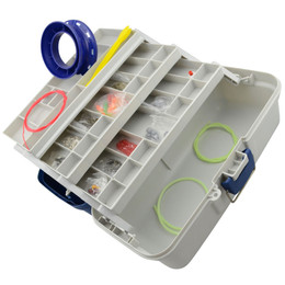 500 Piece Fishing Tackle Box