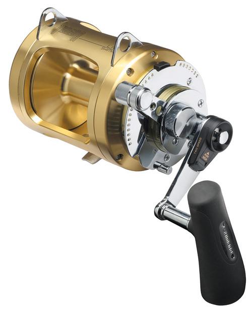 Shimano Tiagra Fishing Reel 50 WLRSA - 2 Speed Game Reel