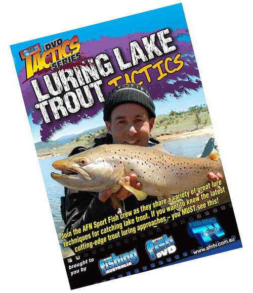 Luring Lake Trout Tactics Fishing DVD