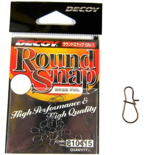 Decoy Round Lure Snaps