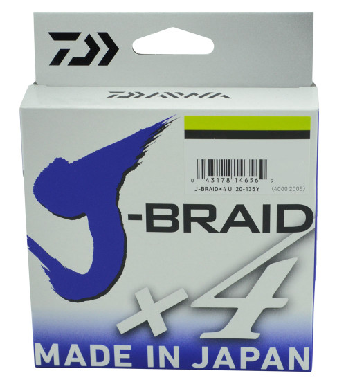 Daiwa J Braid Fishing Line 4 Carrier