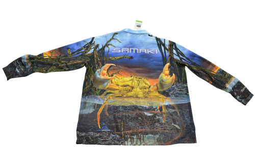 Samaki Mud Crab Fishing Shirt