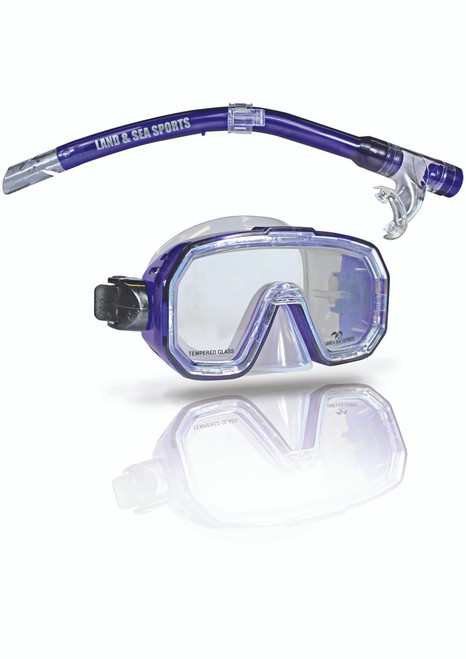 Land And Sea Kakadu Silicone Mask and Snorkel Junior Fit