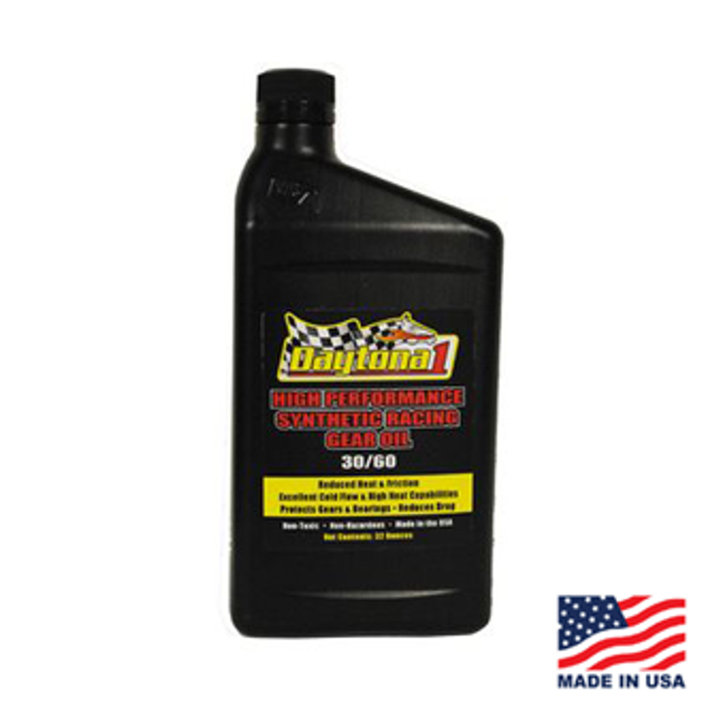 Daytona 1 30/60 Gear Oil Quart