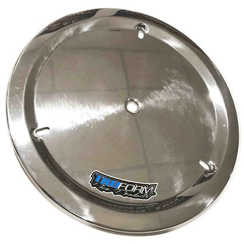 Truform Aluminum Wheel Cover - Polished Aluminum