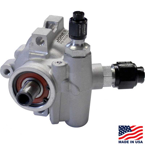 Lightweight Aluminum Power Steering Pump by Jones Racing Products