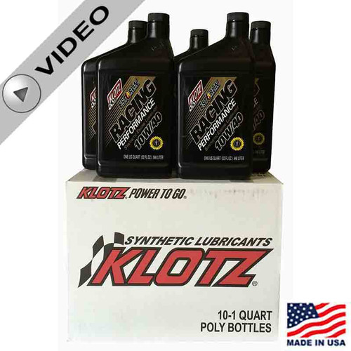 Klotz 10W/40 Estorlin Racing Performance Synthetic Oil (KE-940)