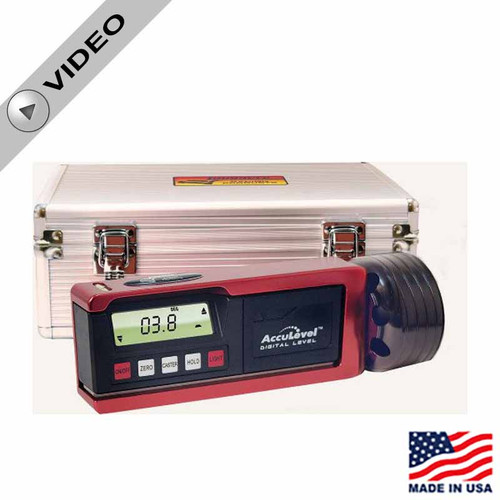 Longacre Digital Caster / Camber Gauge with AccuLevel™