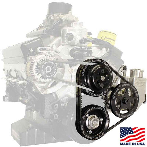 602 V-Belt Water Pump & Power Steering Pump Front Drive Kit