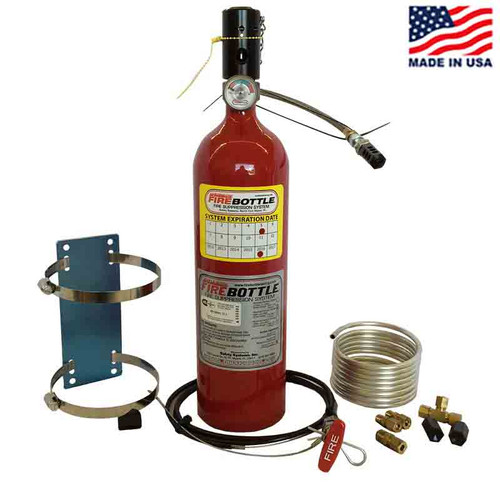 Fire Bottle AMRC-500 Automatic or Manual Fire Suppression System - 5#