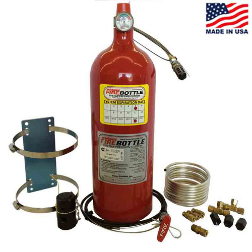 Fire Bottle AMRC-1000 Automatic or Manual Fire Suppression System - 10#