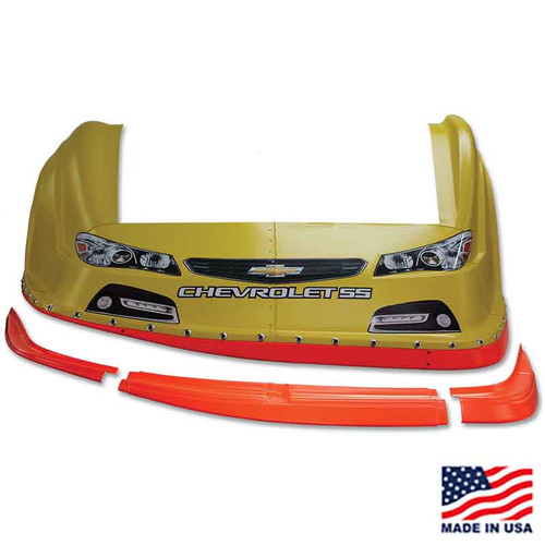 AR Bodies Dirt Late Model Molded Valance (3-Piece)