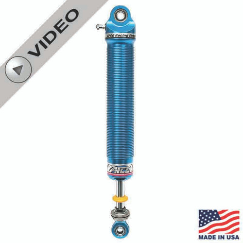 "AFCO 21 Series Dirt Late Model Aluminum Non-Adjustable Shocks, 9"" Stroke, 1"" Longer Shaft"