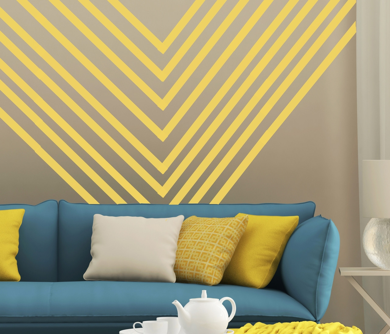 Wall Decal Stripes, Vinyl Stickers to Make a Room Border or Stripes ...