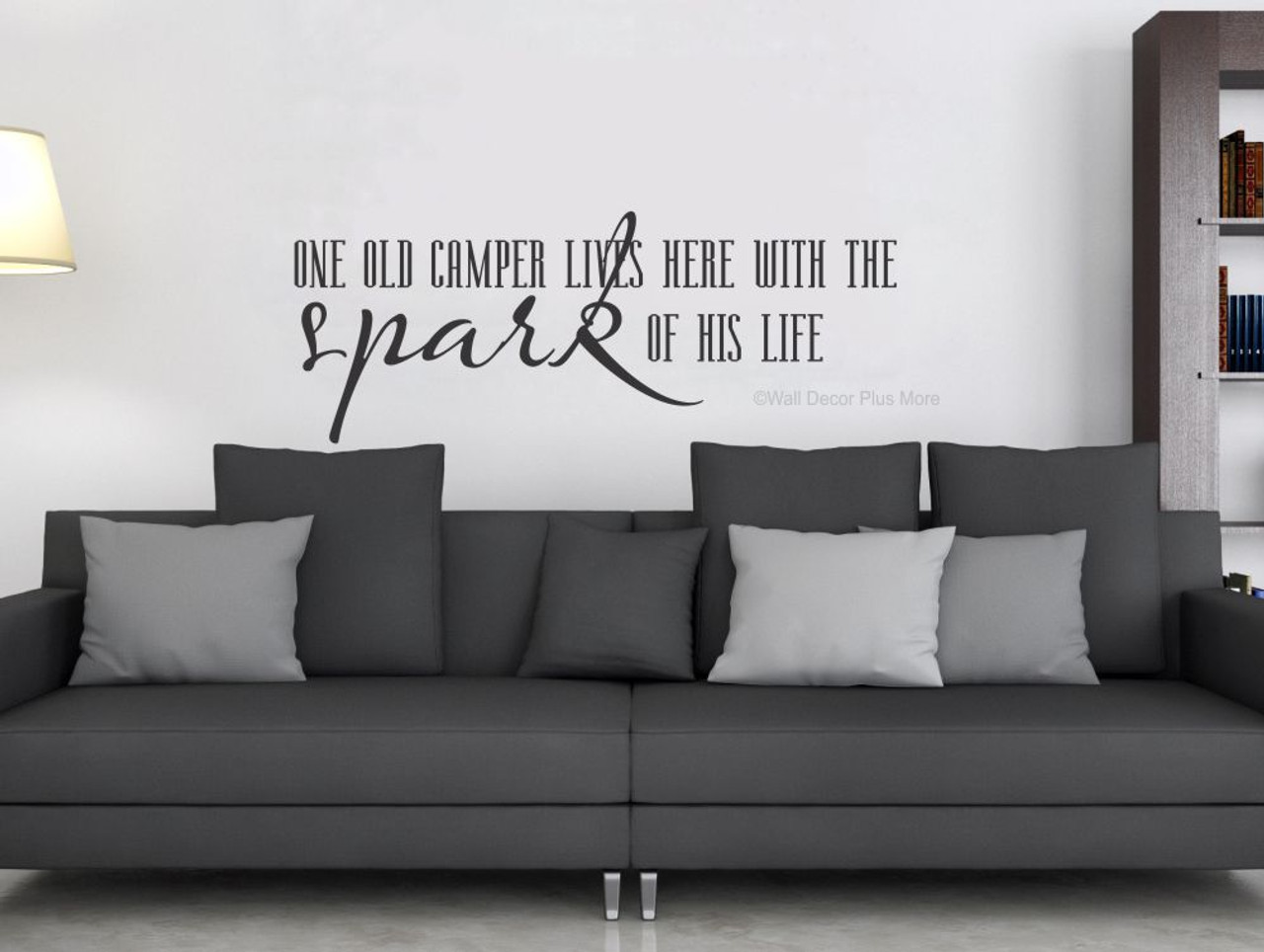 One Old Camper Lives Here with Spark of His Life Wall Decal Quote Spark En Sofa Home Design on ideas design, scalextric design, prius v design, nano design, starline design, sparkle design, air design, sprout design, helping hand design, fusion design, parasail design, boo design, herter brothers design, compression design, gmp design, big wheel design, catalyst design, sprig design, urban planning design, rpm design,