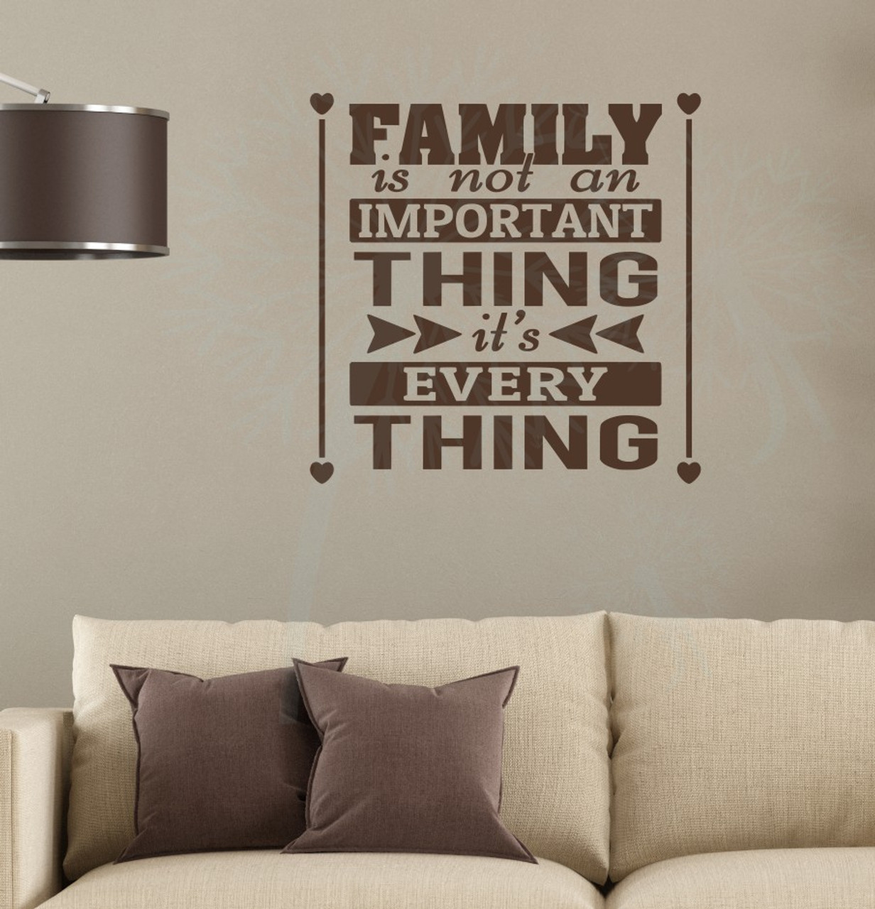 Wall Decals Quotes: Family Is Everything Home Decor Vinyl Lettering Family