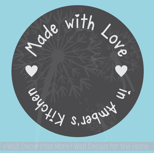 Wedding Shower Gift Vinyl Stickers Decals Stencil for Etching on Glass
