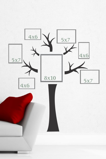 Tree Wall Decal Photo Collage Wall Art