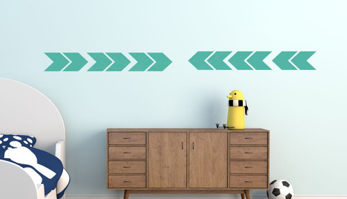 Wall Vinyl Sticker Arrows Simple Peel-n-Stick Arrangement Modern Wall Decor