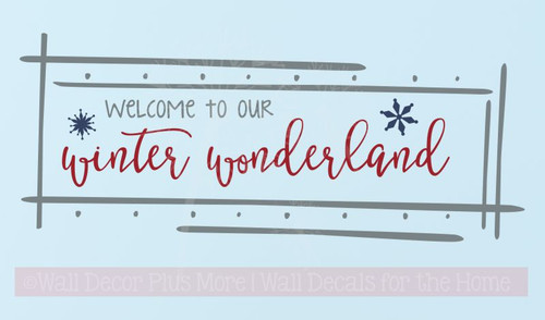 Preferred Wall Decals - Seasonal Wall Decals - Winter Wall Decals - Page 1  FT11