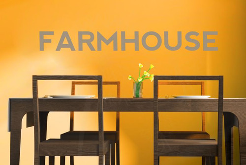 Farmhouse Wall Decals for Decor Vinyl Lettering Art Stickers