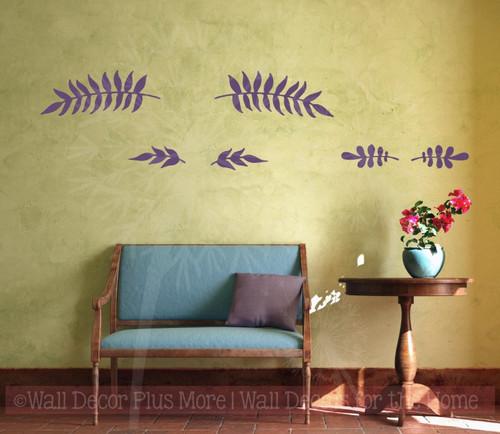Cardinal Set of 2 Bird Wall Decals Vinyl Art Christmas Home Decor