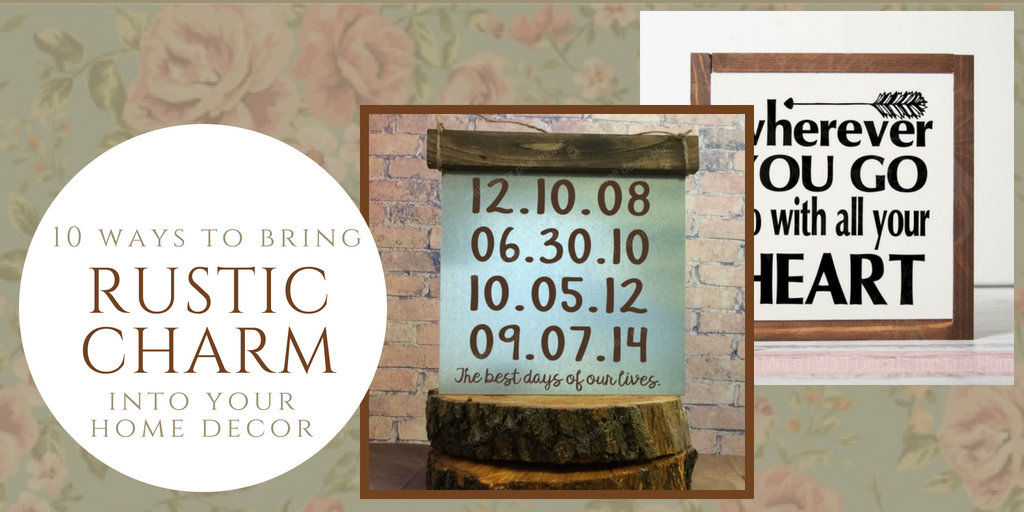 10 Ways Wood Signs Bring Rustic Charm and Smiles to Home & Office Decor