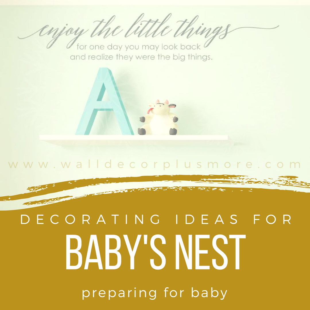 Getting the Nursery Ready for Baby: Decorating Ideas for Baby\'s Nest ...