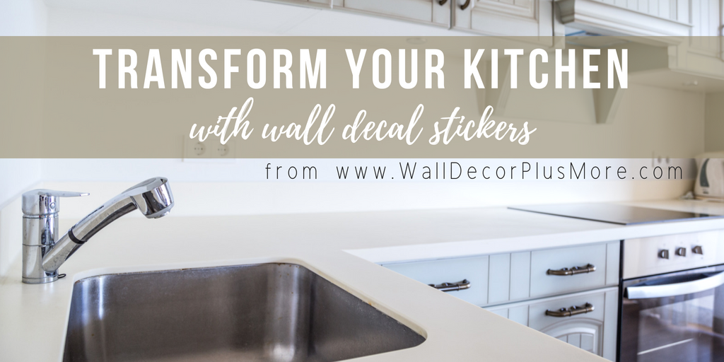 Transform Your Kitchen with Wall Decals
