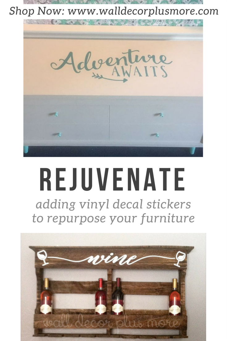 Floral Decal Stickers That Work With Your Furniture