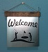 welcome-golf-scene-wall-sticker-on-metal-wood-sign.jpg