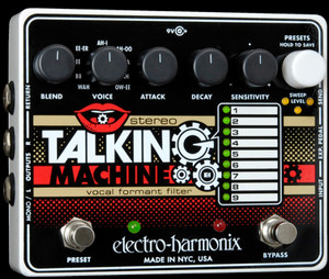 Electro Harmonix    Stereo Talking Machine  Vocal Formant Filter
