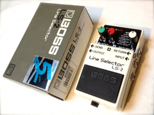 Used Boss line selector LS-2 Sold