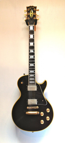 Used '72 Gibson Les Paul Custom Black Beauty SOLD!!!