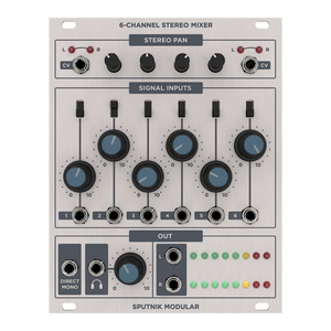 SPUTNIK 6-CHANNEL MIXER