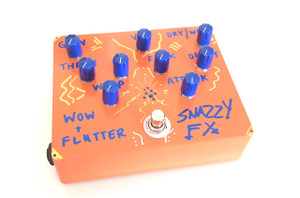SNAZZY FX WOW AND FLUTTER 2016 HAND-MADE LIMITED EDITION(2 OF 8) SOLD!!!