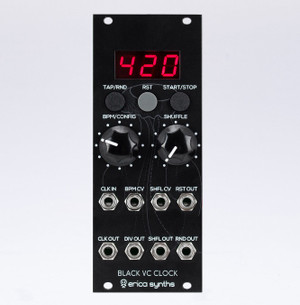 Erica Synths Black VC Clock v2
