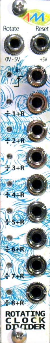 4ms Rotating Clock Divider