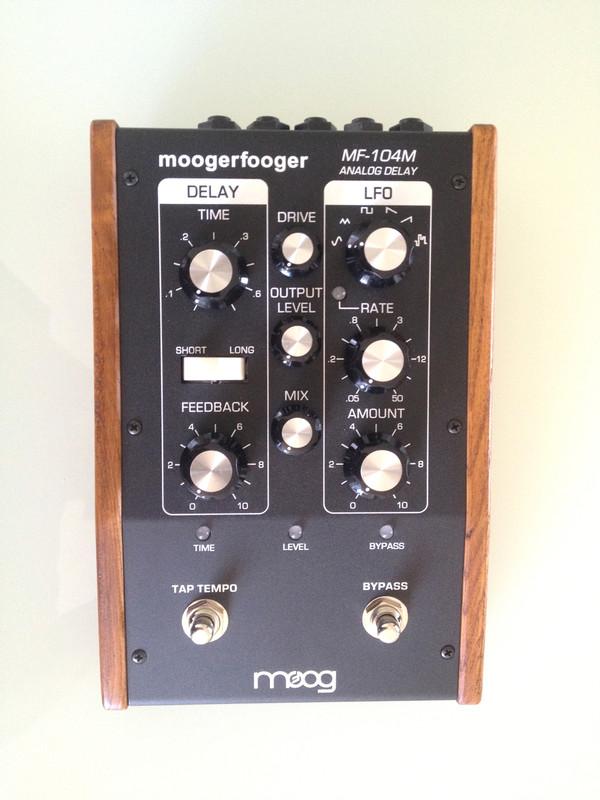 Used Moog Moogerfooger MF-104M Analog Delay (MINT)/SOLD!!!
